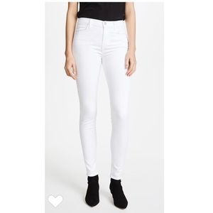 "J Brand- White Skinny Jeans in ""White Out"""